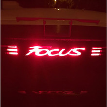 10pcs Fiber Stickers And Decals High Mounted Stop Brake Lamp Light Car Styling For Ford Focus 2 3 MK2 MK3 2005-2017 Accessories(China)