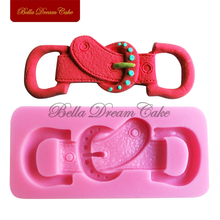 Jewel Belt Fondant Cake Molds Soap Chocolate Mould for Decorating Kitchen Baking Tools Cake Tools Craft Mold Candle Molds SM-229