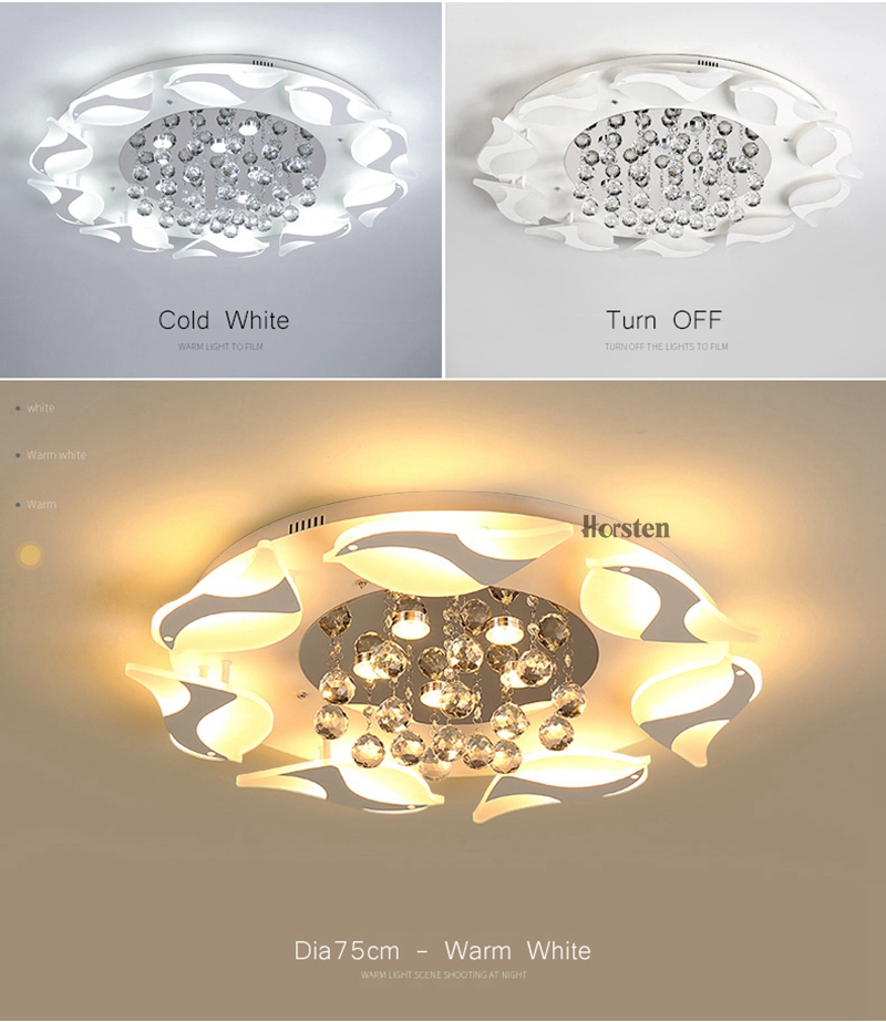 Modern Luxury Bird Crystal Ceiling Lamps With Remote Controller Dia957555cm Crystal Ceiling Chandelier For Living Room Bedroom (12)