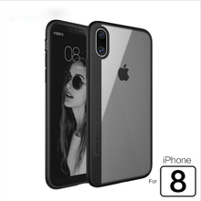 Buy Luxury Clear Phone Cases iPhone 8 Case Silicone Ultra Slim Soft Protective Anti-knock Cover iPhone 8 Coque Transparent for $4.38 in AliExpress store
