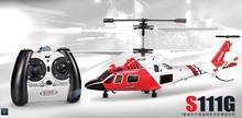 3.5 Channel helicopter Syma S111g remote control helicopter Free shipping