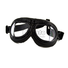 Hot Sale Scooter Goggles Pilot Motorcycle glasses ATV Goggle Motocross Glasses Sunglasses(China)