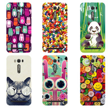 Printed Cute Cartoon Painting Fashion Design Phone Case Cover For Asus Zenfone 2 Laser ZE500KL ZE500KG (5.0 inch) Skin Shell Bag