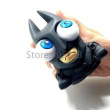 12Pieces Relaxing &Funny Mad Dark Knight Superhero Batman Bulging Eyes Pop Out Eyes Stress Balls Squeezable Toy