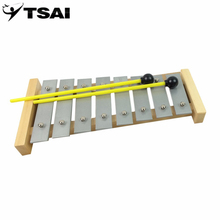 TSAI Wooden Xylophone high quality for Early Childhood Music Instrument Kids Toys brinquedos Musical Teaching Aid Children(China)