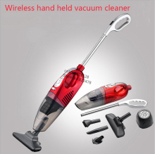 Wet And Dry Vacuum Cleaner 80w Rechargeable Wireless Home / Car Vacuum Cleaner Brush Mites Killer