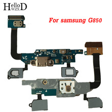 For Samsung Galaxy Alpha G850 G850F SM-G850F Dock Connector Micro USB Charging Port Flex Cable Module Board Replacement Parts(China)