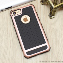 Luxury Ultra Thin Shockproof Rubber PC & Gel TPU Case Cover For Apple iPhone 5 5S SE 6 6S 7 Plus Armor Phone Cases Shell Capa