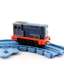 Kids thomas and friends trains Sideny magnetic Locomotive Diecast alloy metal models Railway trackmaster collection gift toys