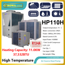 11KW or 37,500BTU high temperature(80'C)  super Hi-COP heat pump water heater , please consult shipping costs with seller