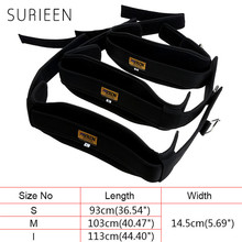 SURIEEN Men Waist Support Sports Safety Fitness Waist Protector Belt for Boxing Basketball Weightlifting Man Training Protection