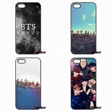 For Xiaomi Redmi Note 2 3 3S 4 Pro Mi3 Mi4i Mi4C Mi5S MAX iPod Touch 4 5 6 Korea BTS bangtan boys Team Logo Poster Phone Case(China)