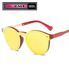 Orange Lenses Women Sunglasses with Original Brand of Packages KD-0815 Series
