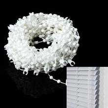 White Vertical Blind Bottom Link Bead Chain Parts Spares Blinds Roman Shade 10M For The Shutter(China)