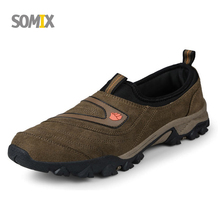 2017 New Somix Brand Sport Shoes Men Shoes Comfortable Walking Shoes for Men Breathable Hard Court Outdoor Shoes Men Sneakers