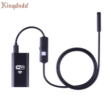 Webcam Wireless HD 720P Waterproof Smart WIFI Camera Inspection Endoscope For iPhone Android Camara Web Drop shipping 17Aug10(China)