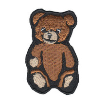 Small teddy bear embroidery clothing patch sewn film decals, patch cloth embroidered DIY accessories patch clothes sewing fabric