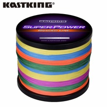 KastKing Multicolor Braid Line Super Strong Carp Colorful Braided Fishing Line 1000m 10-80LB PE Multifilament 4 Strands(United States)