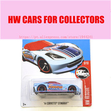 New Arrivals 2017 Hot Wheels 1:64 14 Corvette Stingray  Model Metal Diecast Cars Collection Kids Toys Vehicle For Children
