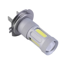 New arrival 1pc H7 80W High Power COB LED Fog Lights auto car DRL Bulb day time running Lamp 6000K hot selling