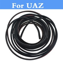 2017 New Car Door Edge Guard Crash Rubber Sealing Anti Wear Rubber Strip For UAZ 31512 3153 3159 3162 Simbir 469 Hunter Patriot