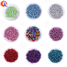 In Stock Fashion Bead Choose Colors 500pcs/lot 8mm Chunky Miracle Mix Beads For Jewelry Making Amazon Suppliers CD-MHZ-8MM(China)