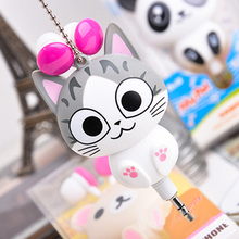 Cute Cartoon Retractable Earphone In-earphone for Mobile Phone MP3 Player