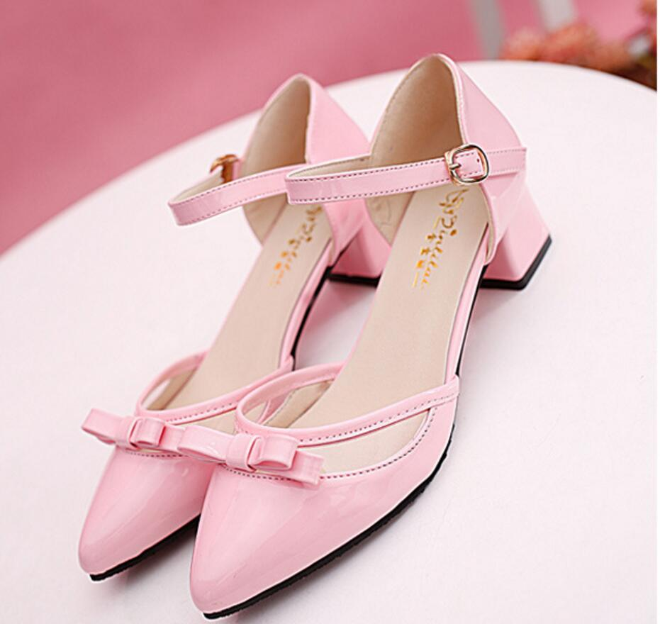 2017 spring and summer elegant ladies fashion office sandals temperament woman walking show shoes high heels<br><br>Aliexpress
