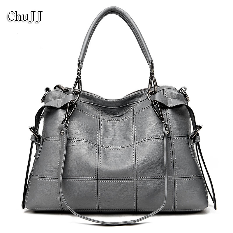Genuine Leather Women Bag Ladies Satchel/Shoulder Bag Women Crossbody Messenger Bag Big Size Totes Bolsas Feminina<br>