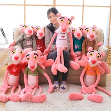 2017 AUGUST New Big High quality NICI Pink Panther Plush Toys Plush Toy Original Dolls Children Christmas Birthday Presents 1pcs(China)