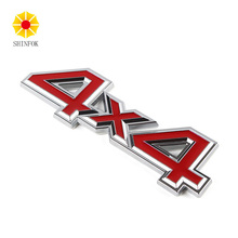 Metal 3D 4x4 Auto Car Sticker 4 Drive Emblem Badge for JEEP Patriot Chevy Silverado GMC Sierra truck(China)