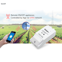 ITEAD Sonoff G1 Smart Wireless WiFi Switch Wifi Remote Control Power Via GPRS NET Work Support SIM for Greenhouse Pet Feeding