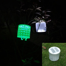 Inflatable Solar Light Rechargeable Waterproof Solar LED Lantern Lights For Camping Hiking Biking Survival Emergency Lamp(China)