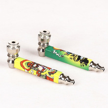 High Quality Metal Pipe for smoker weed grinder Pipa Smoking Pipes Now Gift Hookah metal weed pipe smoking accessories