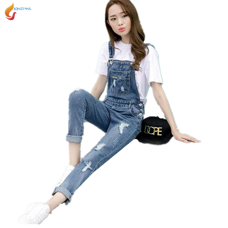 ae4986786a6e Buy woman jumpsuit summer 2016 denim and get free shipping on AliExpress.com