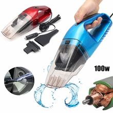 100W Handheld Wet and Dry Car Vacuum Cleaner Auto Portable Vehicle Truck Home 12V Car Dust Collector Cleaning