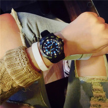 Men watches 2016 Jelly Market Harajuku Style Personality Cool Outdoor Sports Students Tide Table men sports watches Feida(China)