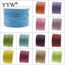 YYW New Arrival 13 Colored 1mm 80M Nylon Cord Plastic Spool Thread String Jewelry Accessories DIY Making Findings Nylon Cords(China)