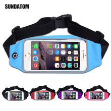 Sport Running Waist Pack Waterproof Belt Adjustable Bag Nylon Pouch Universal Phone Hold for iPhone 6 7 Plus Samsung HTC LG