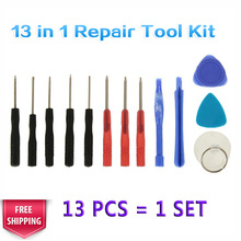 1 Set 13 In 1 Mobile Cell Phone Opening Pry Screwdrivers Repair Tool Kit Disassembly Tools For iPhone For iPad Plus For Samsung(China)