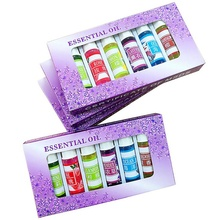 1 sets Skin Care Beauty Aromatherapy Essential Oil 5ML Fragrance Aromatherapy Oil Natural Spa Oil Makeup 6 types New(China)