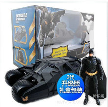 The Dark Knight Batman Action Figure Vehicle Batmobile Robot Car Toys With Figure