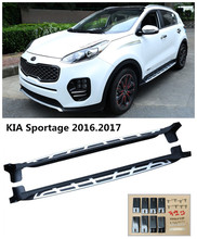 For KIA Sportage 2016.2017 Car Running Boards Auto Side Step Bar Pedals High Quality Brand New Original Models Nerf Bars(China)