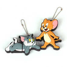 free shipping pen drive cartoon mini cat TOM JERRY 2G 4G 8G usb 2.0 flash drive flashdrive memory card stick pendrive gift