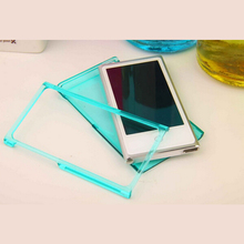 Candy Color Crystal Transparent Hard Skin For Apple iPod Nano 7 7G 7th Generation Case Cover