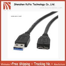 Free Shipping USB 3.0 Cable For WD Western Digital and Elements/Seagate/Samsung External Hard Drives A to Micro B (1 Feet)