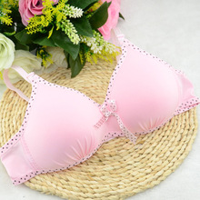 2015 new hot selling young girl training bra wireless bra student underwear kids bras multicolor bra for girls(China)