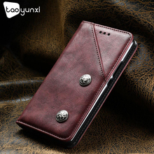 Buy TAOYUNXI Doogee Homtom HT16 Luxury Retro Magnetic Leather Stand Flip Wallet Card Pocket Phone Case homtom ht16 5.0 Cover for $5.38 in AliExpress store