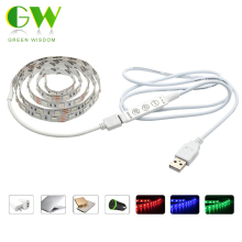 USB 5V LED Strip 5050 RGB TV Background Lighting 60LED/m 50cm / 1M / 2M Set
