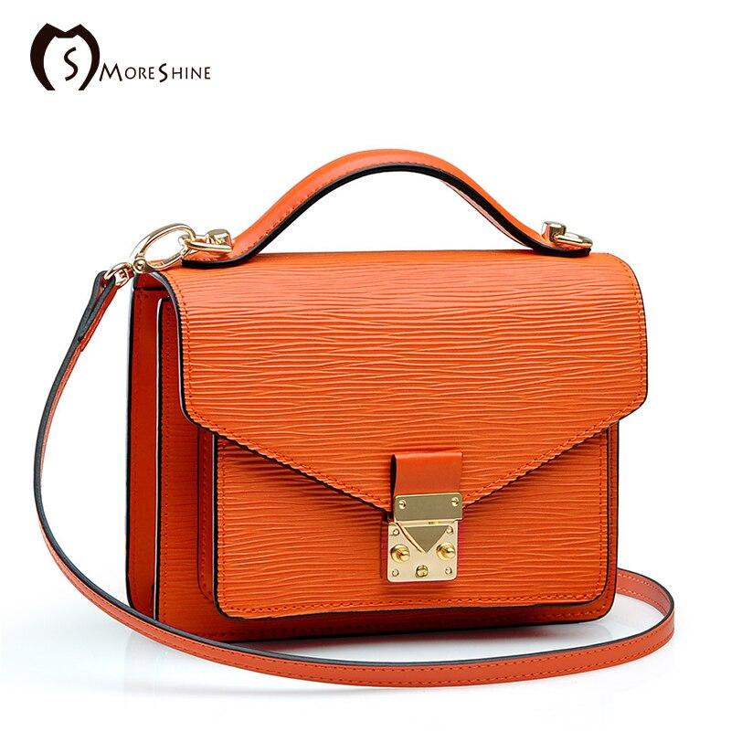 MORESHINE brand genuine cow leather bags women handbag High-end Lock shopper bag Female shoulder bags for Laides tote<br><br>Aliexpress